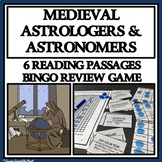 MEDIEVAL ASTROLOGERS AND ASTRONOMERS - Printable Reading Passages and Bingo