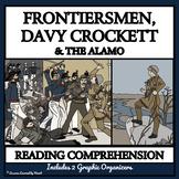 BUNDLE READING COMPREHENSION - FRONTIERSMEN, DAVY CROCKETT, ALAMO
