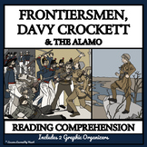 FRONTIERSMEN, DAVY CROCKETT, ALAMO - Reading Passages & Comprehension Questions
