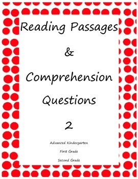 Reading Passages and Comprehension Questions 2
