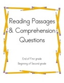 Reading Passages and Comprehension Questions 3