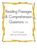 Reading Passages and Comprehension Questions 4