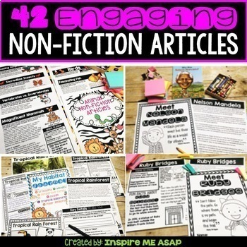 Third Grade Guided Reading Passages & Comprehension Questions BUNDLE