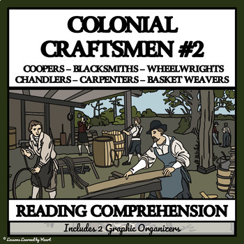 Reading Passages and Comprehension Questions - Colonial Craftsmen, part 2