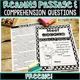Level O Guided Reading Passage and Comprehension Questions FREEBIE: Jackie R.