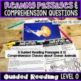 Level O: Guided Reading Passages and Comprehension Questions: Ocean Animals