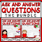 Ask and Answer Questions Passages/Assessment RI1.1 and RL1.1 BUNDLE