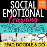 Reading Passages and Writing Prompts Social Emotional Lear
