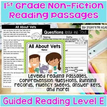 Reading Passages for 1st Grade Non-Fiction
