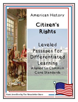 Reading Passages for Differentiated Learning: Citizens' Rights