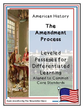 Reading Passages for Differentiated Learning: The Amendment Process