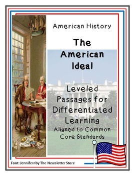 Reading Passages for Differentiated Learning: The American Ideal