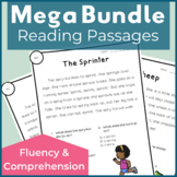 Reading Passages for Fluency and Comprehension Mega Bundle