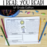 Reading Passages for Home or School: 1st Grade Edition