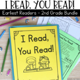 Reading Passages for Home or School Bundle: Early Readers Kindergarten 1st  2nd