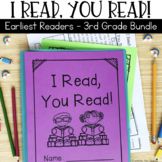 Reading Passages for Home or School Bundle: Early Readers - 3rd Grade