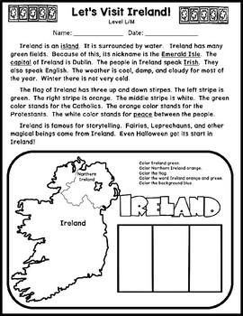 Reading Passages for St. Patrick's Day Bundle