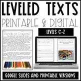 Leveled Text  Bundle
