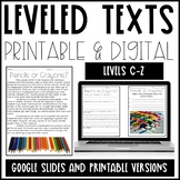 Leveled Text Bundle (Distance Learning)