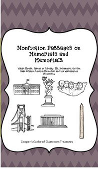 Reading Passages on Memorial and Monuments