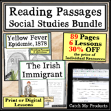 Reading Passages with Comprehension Questions Social Studies