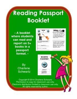 Reading Passport Booklet