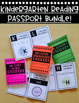 Reading Passport Bundle!