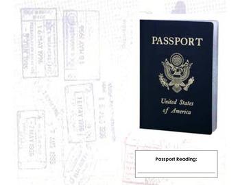 Reading Passport - Versions 1 & 2 COMBINED!