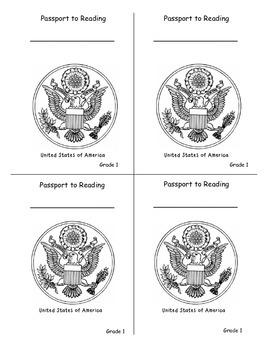 Reading Passports for Grade 1