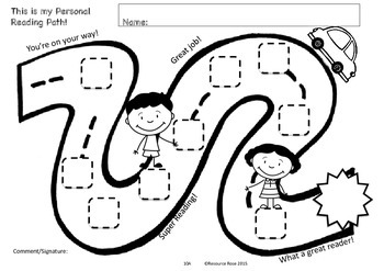 Reading Program (Paths) for Emergent Readers (Minimal Prep, 10 week program)