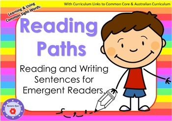 Reading Program (Paths) for Emergent Readers (Minimal Prep