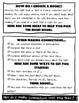 Reading Peek Sheets Waterfall Booklet