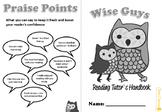 Reading Peer Tutor Booklet