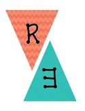 Pennant Banner for Reading Bulletin Board