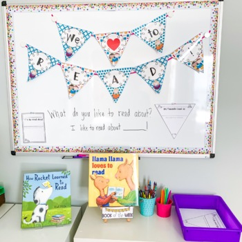Reading Pennant and Bulletin Board Activities
