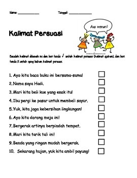 Reading Persuasive (Bahasa Indonesia)