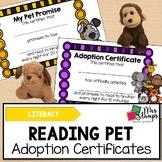 Reading Pet Adoption Certificates: Nightly Reading