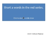 Reading---Phonics Short a words in the Red Series