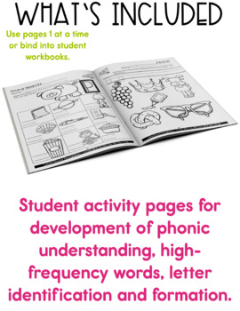 Reading, Phonics and Writing - Daily Literacy Practice – Kindergarten