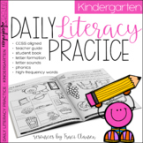 Kindergarten Phonics & Sight Words Practice - Daily Literacy