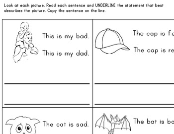 Reading Phrases and Sentences