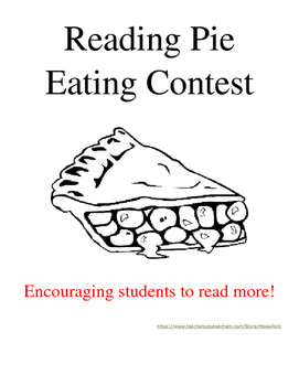 Reading Pie Eating Contest