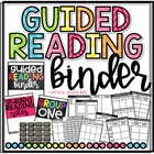 Guided Reading Binder!