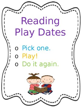 Reading Playdate Mat Cover Page