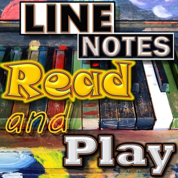Reading & Playing Treble Clef Line Notes - Piano or Mallet
