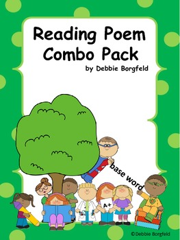 Reading Poems Combo Pack to Help Teach Reading Skills and Strategies