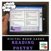Reading Poetry-Boom Cards- Digital Learning