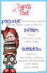Reading Anchor Chart: Author's Purpose