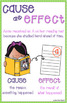 Reading Anchor Chart: Cause and Effect