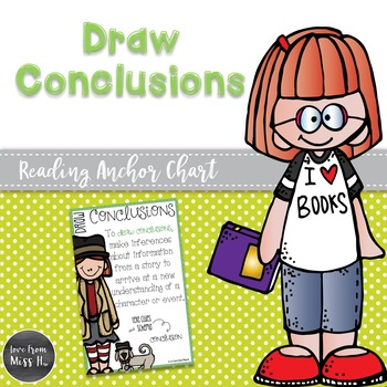 Reading Anchor Chart: Draw Conclusions